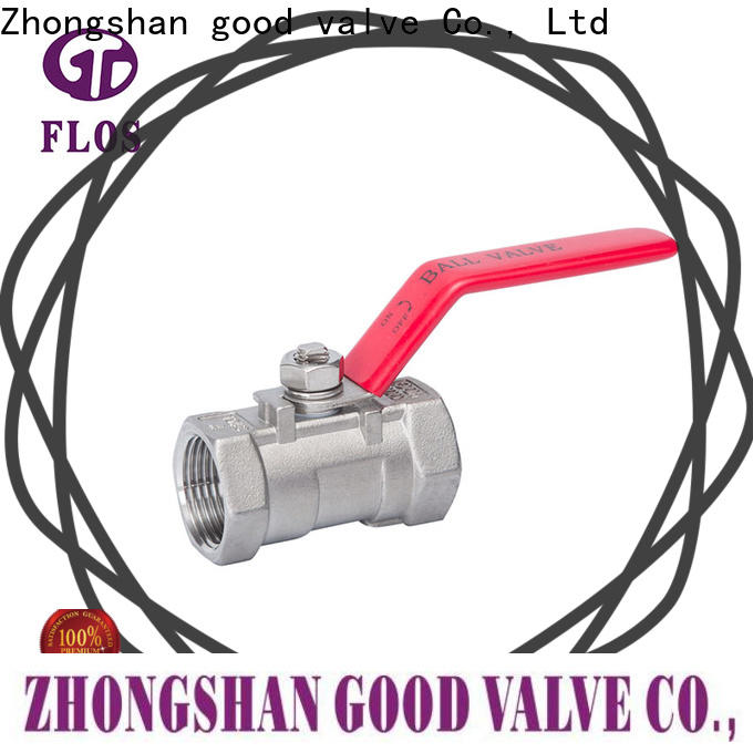 FLOS Latest single piece ball valve company for closing piping flow