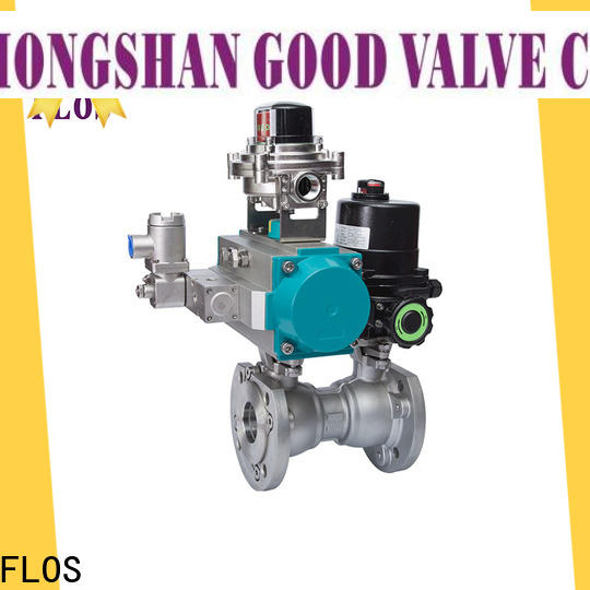 Latest one piece ball valve pc company for directing flow