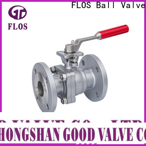 Custom two piece ball valve flanged company for opening piping flow