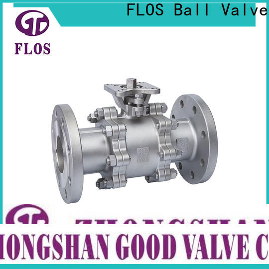 FLOS Top 3 piece stainless ball valve Suppliers for closing piping flow