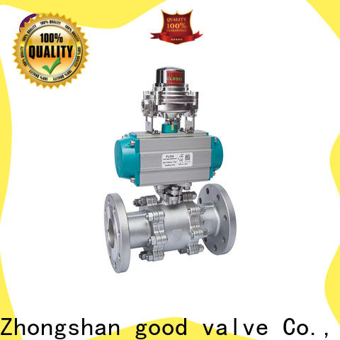 Top three piece ball valve flanged company for opening piping flow