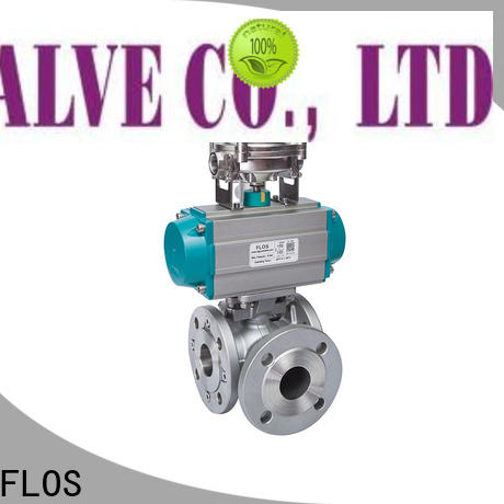 FLOS pneumatic multi-way valve Supply for opening piping flow