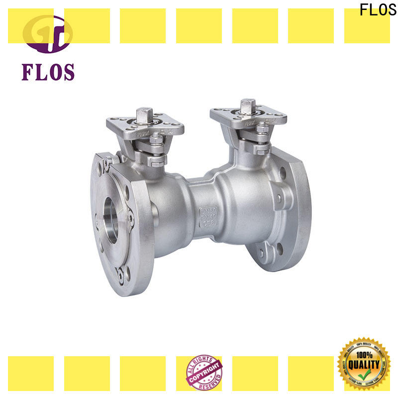 FLOS Latest 1 pc ball valve factory for opening piping flow