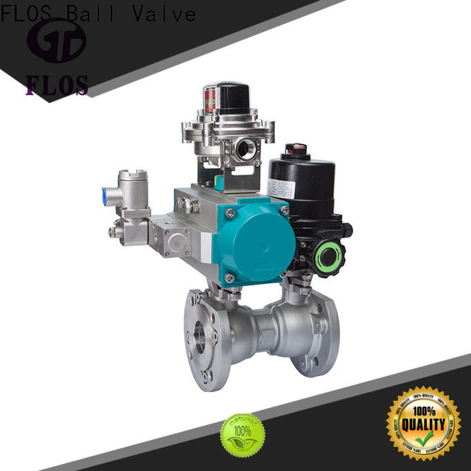 FLOS highplatform 1-piece ball valve for business for closing piping flow