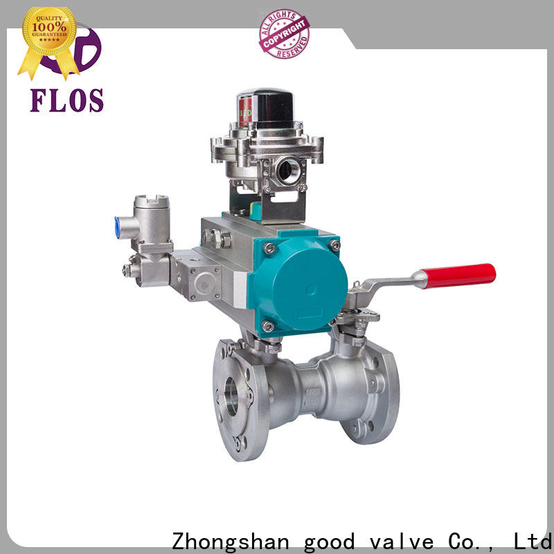FLOS pneumatic valves Supply for opening piping flow