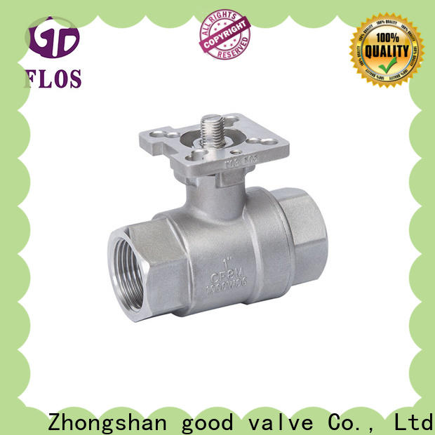 Best 2 piece stainless steel ball valve switchflanged Supply for opening piping flow