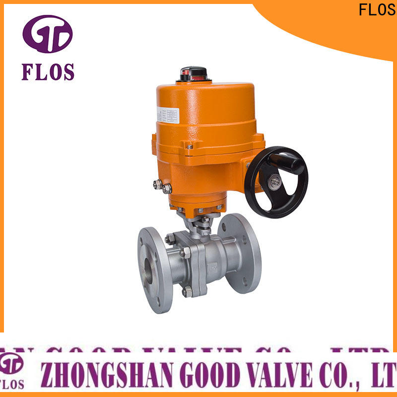 FLOS pneumatic 2-piece ball valve for business for opening piping flow