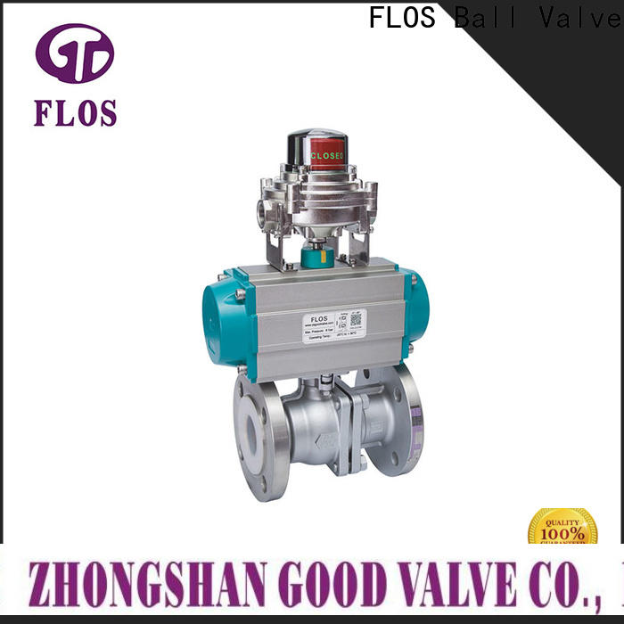 FLOS pc ball valve manufacturers factory for closing piping flow