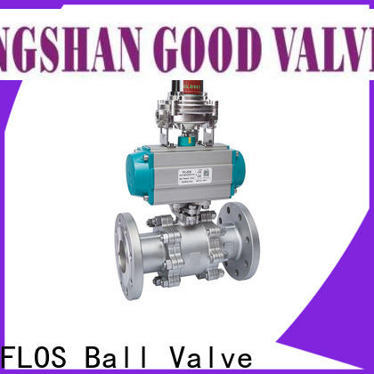 Wholesale 3 piece stainless ball valve pneumatic factory for opening piping flow