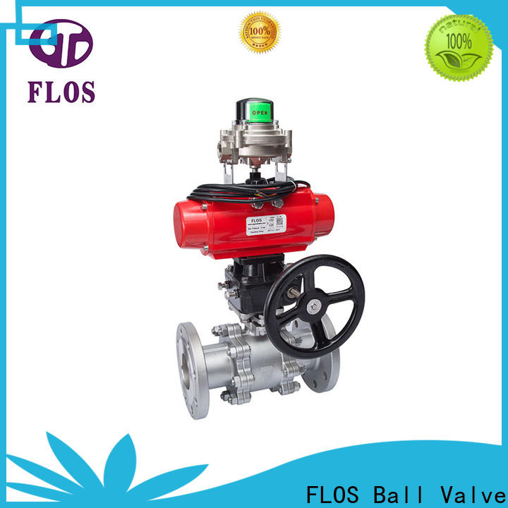 Latest 3-piece ball valve switchflanged factory for closing piping flow