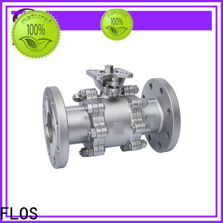 FLOS switch 3 piece stainless steel ball valve for business for directing flow