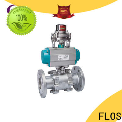 FLOS Best 3 piece stainless ball valve for business for opening piping flow