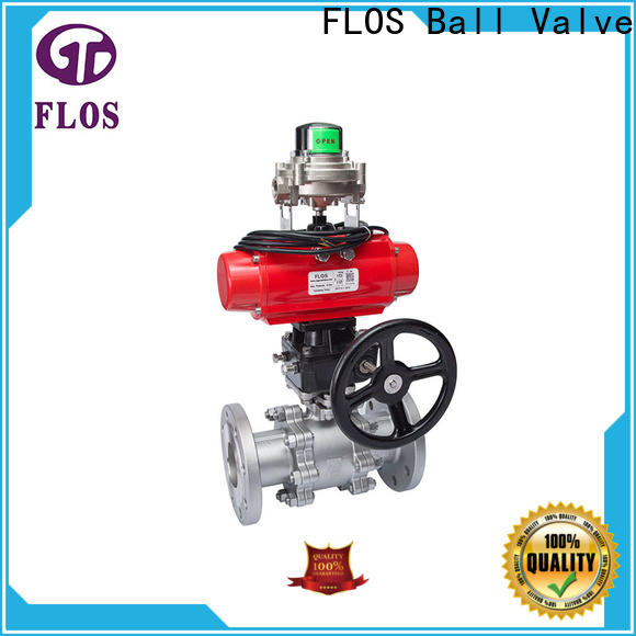 FLOS openclose stainless valve factory for closing piping flow