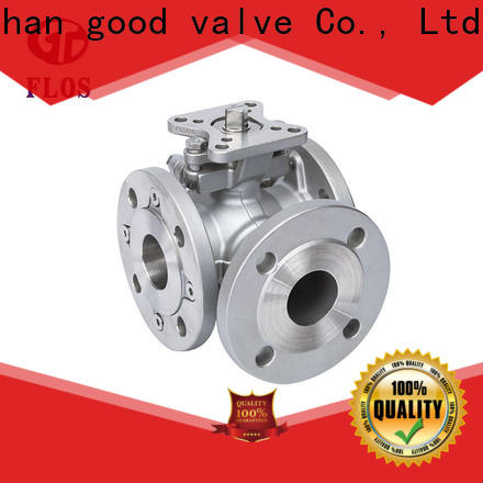 Custom three way ball valve stainless Suppliers for closing piping flow
