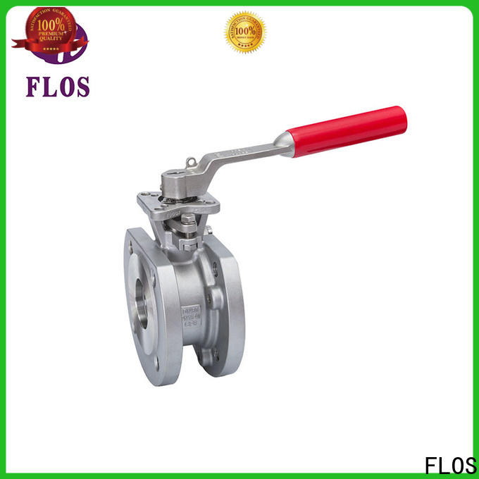 FLOS Latest uni-body ball valve company for closing piping flow