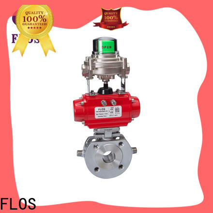 FLOS steel ball valve factory for opening piping flow