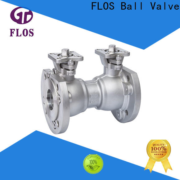 FLOS manual uni-body ball valve manufacturers for closing piping flow