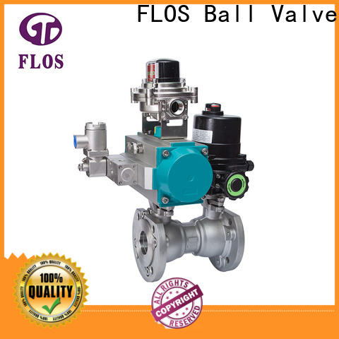 FLOS position 1-piece ball valve for business for opening piping flow