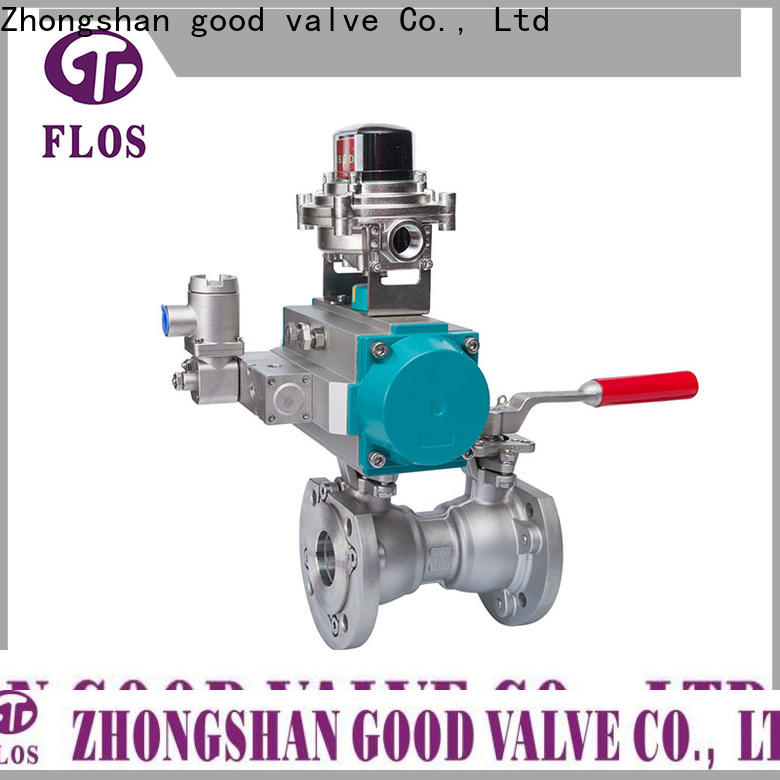 FLOS position valve company factory for closing piping flow