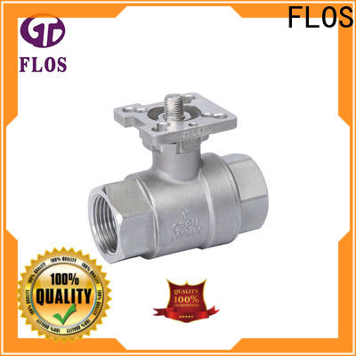 FLOS highplatform stainless ball valve manufacturers for directing flow