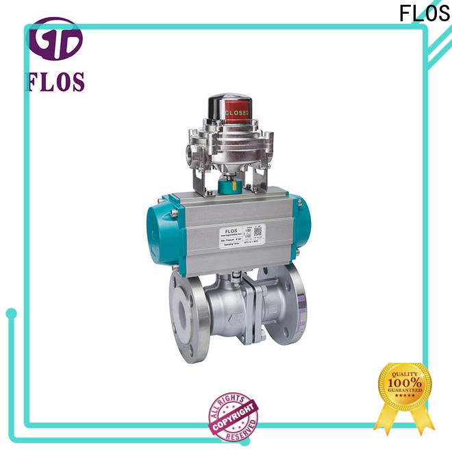 FLOS pneumaticworm ball valve manufacturers Suppliers for directing flow