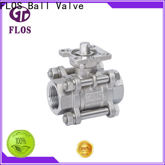 Custom 3-piece ball valve valve Suppliers for opening piping flow