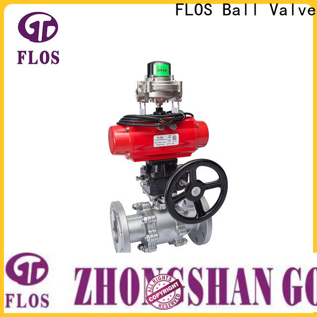 FLOS Top three piece ball valve manufacturers for closing piping flow