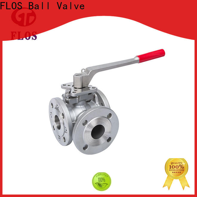 FLOS High-quality 3 way valves ball valves Suppliers for closing piping flow