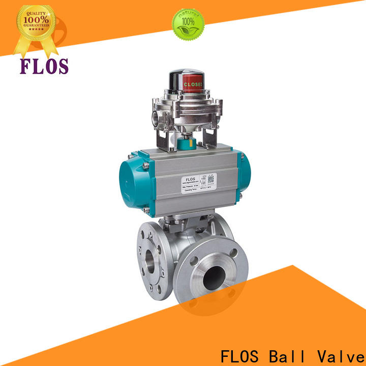 FLOS Top multi-way valve Supply for closing piping flow