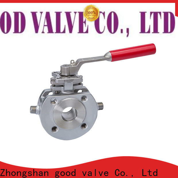 FLOS New uni-body ball valve Supply for directing flow