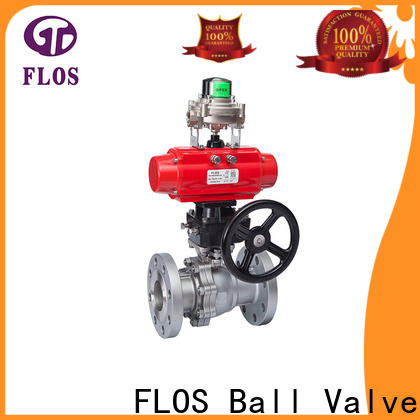 FLOS position stainless steel ball valve company for opening piping flow