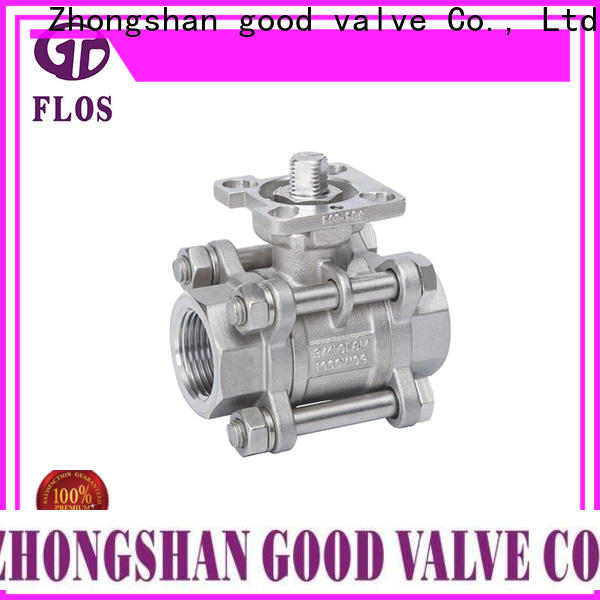 Wholesale 3 piece stainless ball valve ball Suppliers for opening piping flow