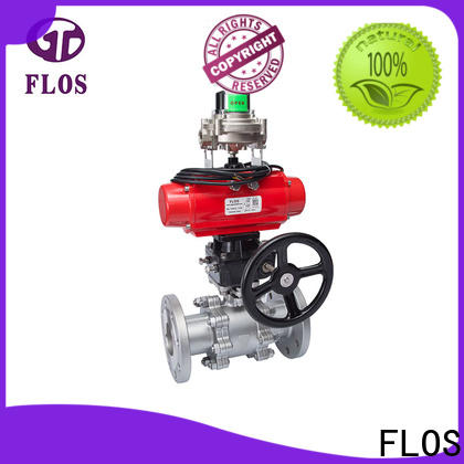 Custom 3 piece stainless ball valve pneumatic manufacturers for directing flow