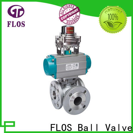FLOS High-quality 3 way ball valve Suppliers for closing piping flow