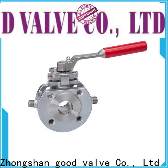 FLOS switchflanged 1 piece ball valve factory for closing piping flow