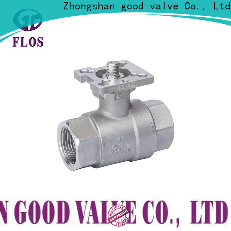 FLOS Custom stainless steel ball valve Supply for opening piping flow