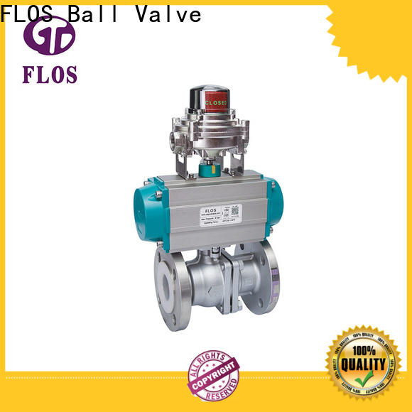 FLOS New 2-piece ball valve manufacturers for closing piping flow