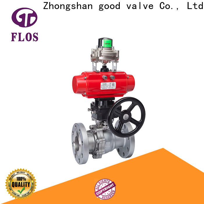 FLOS Top 2 piece stainless steel ball valve Suppliers for directing flow