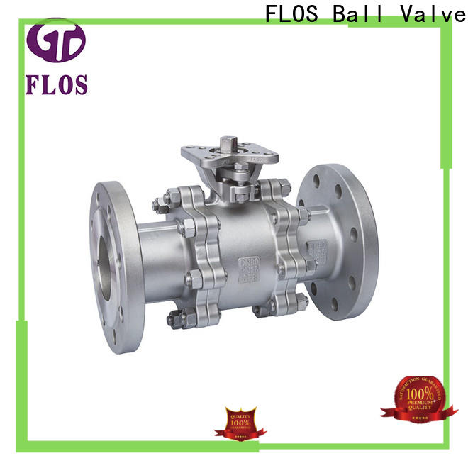 FLOS highplatform 3 piece stainless steel ball valve for business for directing flow