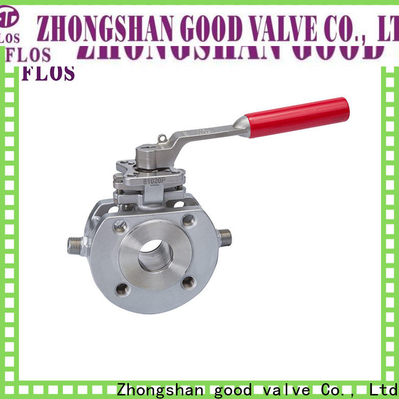 FLOS electric 1 pc ball valve company for opening piping flow