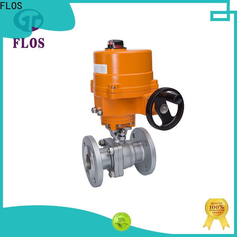 FLOS Custom two piece ball valve manufacturers for opening piping flow