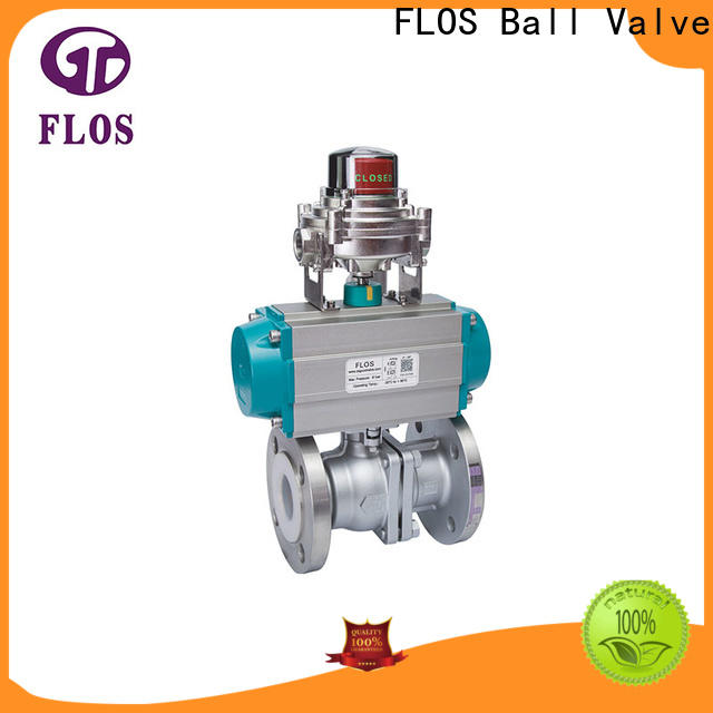 FLOS highplatform 2 piece stainless steel ball valve factory for directing flow