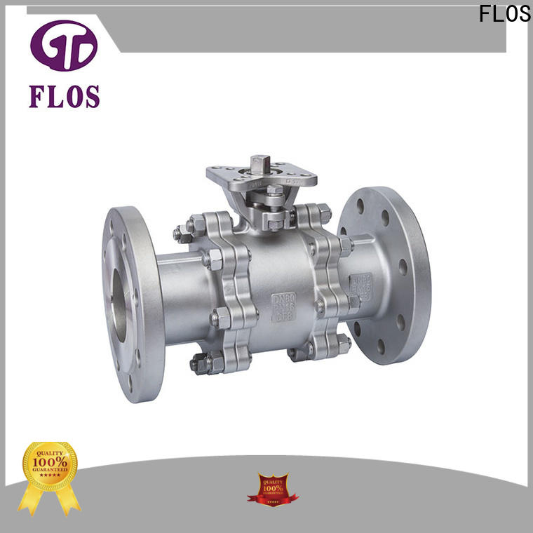 FLOS New 3 piece stainless ball valve Suppliers for opening piping flow
