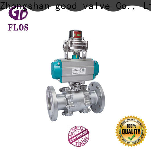FLOS Latest three piece ball valve Suppliers for opening piping flow