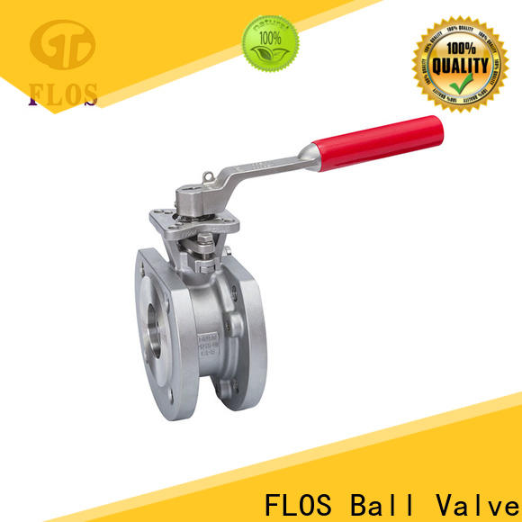 FLOS ball single piece ball valve for business for closing piping flow
