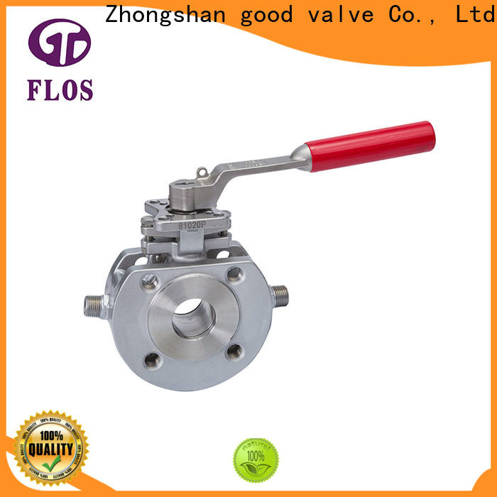 FLOS pneumaticelectric 1 piece ball valve for business for directing flow