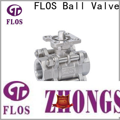 FLOS pc 3 piece stainless ball valve company for directing flow