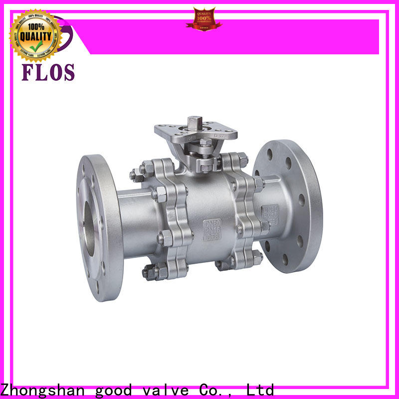 FLOS High-quality 3-piece ball valve factory for directing flow