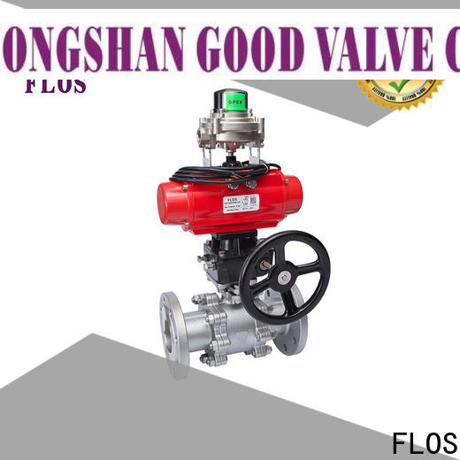 FLOS valve 3 piece stainless steel ball valve Suppliers for closing piping flow