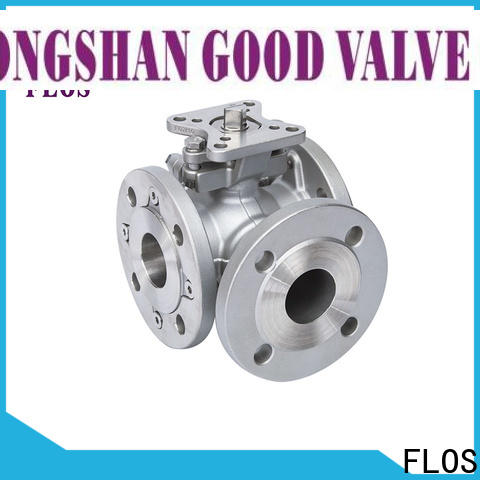 High-quality 3 way valve pneumaticelectric Supply for opening piping flow